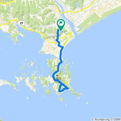野蒜発〜奥松島周回コース