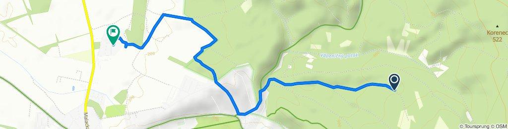 Route to Pastierska, Stupava