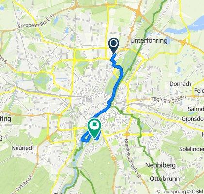 Marcel-Breuer-Straße 16, München to Grünwalder Straße 101, München