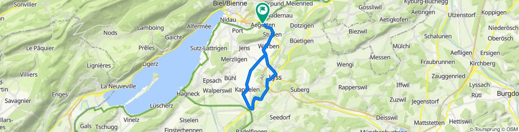 Blistering ride in Aegerten