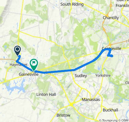High-speed route in Haymarket