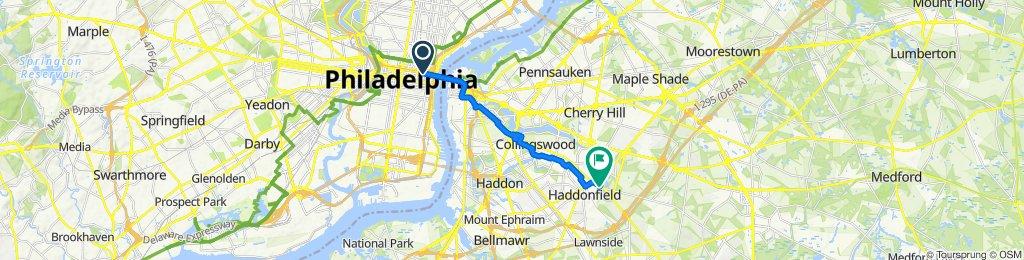 Easy ride in Haddonfield