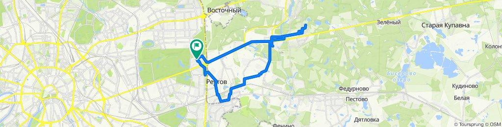 Велоездки весенние Балашихинские дальние 19 03 2020