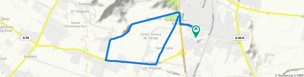 Los Cedros 2461–2511, San Bernardo to Los Ceibos 366, San Bernardo