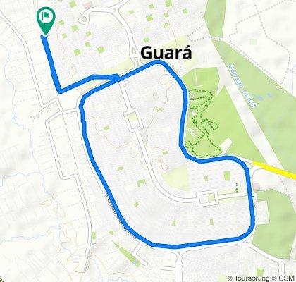 Qe 14 Conjunto E, 44, Brasília to Qi 14 Conjunto U, 104–128, Brasília