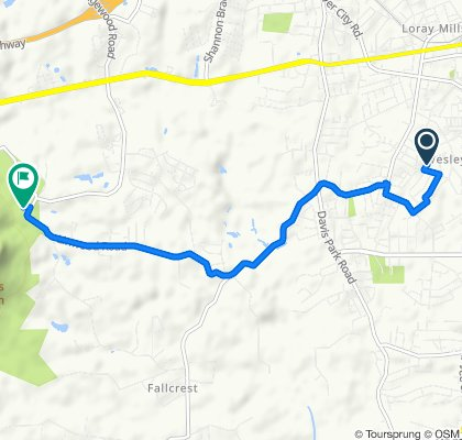 1817 Westbrook Cir, Gastonia to 4611 Linwood Rd, Gastonia