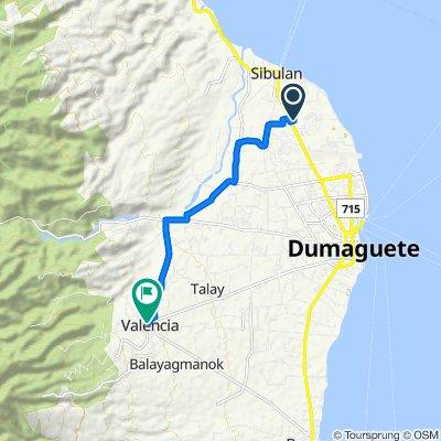 Route to Rizal Street, Valencia