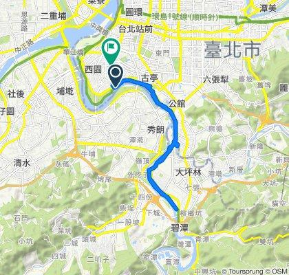 河濱公園-萬華新店段