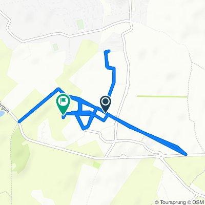 Route stable en Bellaing