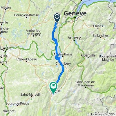 TDF 10. Etappe: Bellegarde sur Valserine - Grenoble