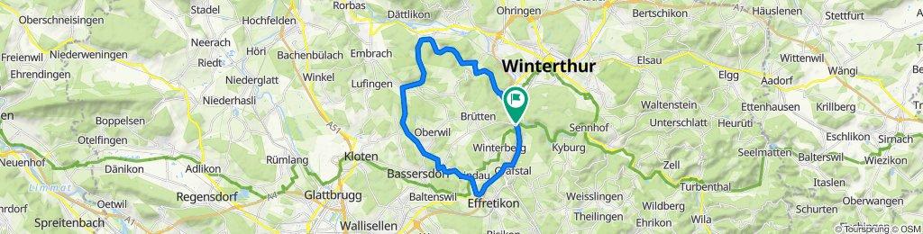Winterthur Bassersdorf Oberembrach Pfungen Dättnau Winterthur