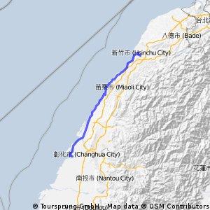 20100713_台北縣校長單車隊環島路線第二天