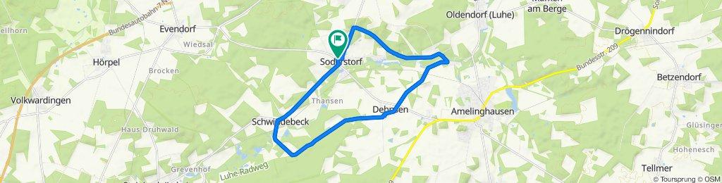 Knackige Fahrt in Soderstorf
