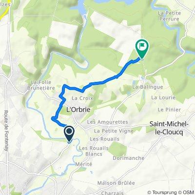 Itinéraire modéré en Fontenay-le-Comte