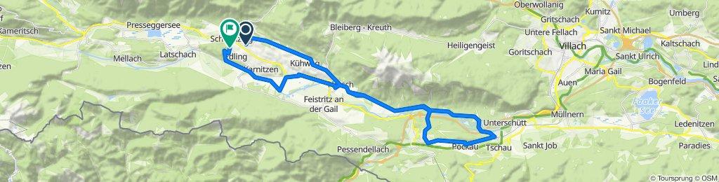 Hadersdorf 23 nach Sankt Stefan an der Gail 46