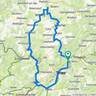 2015 - Fünf Täler Tour, Bitburg - Trier und zurück