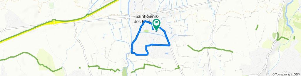 Tour de St Genis des Fontaines
