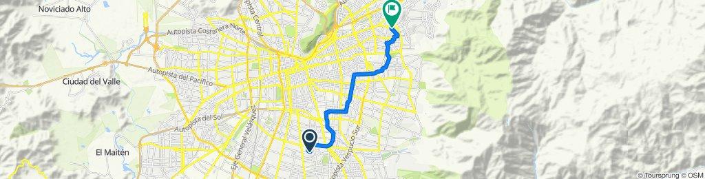 Paseo lento en Las Condes