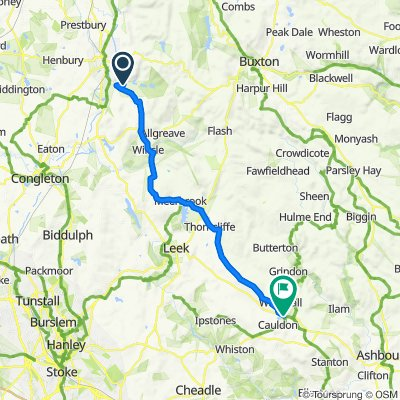 Macclesfield-Wuhan Stage 1: Macclesfield-Waterhouses