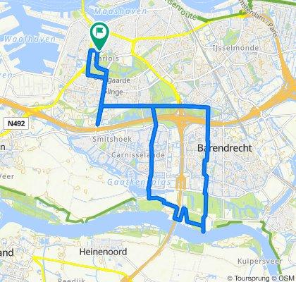 Wielewaalstraat 1B, Rotterdam naar Lepelaarsingel 120A, Rotterdam