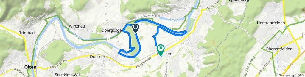 Route to Sälistrasse 17, Däniken SO
