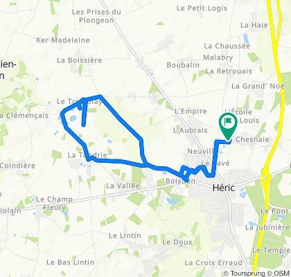 Itinéraire confortable en Héric