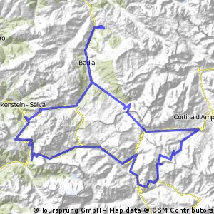 Oesterreich - Dolomiti 4/7ter