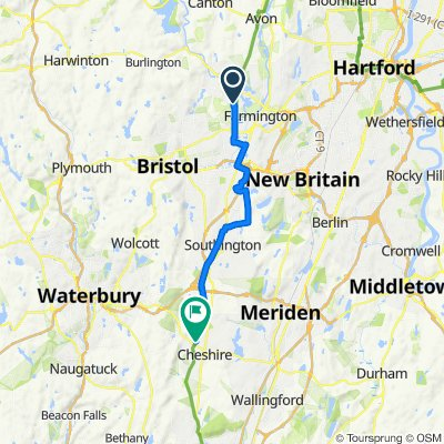 Farmington to Cheshire