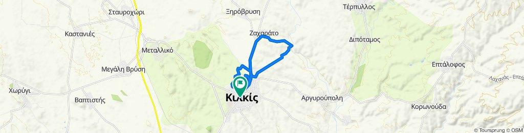 Spartis 2–8, Kilkis to Solonos 10–16, Kilkis