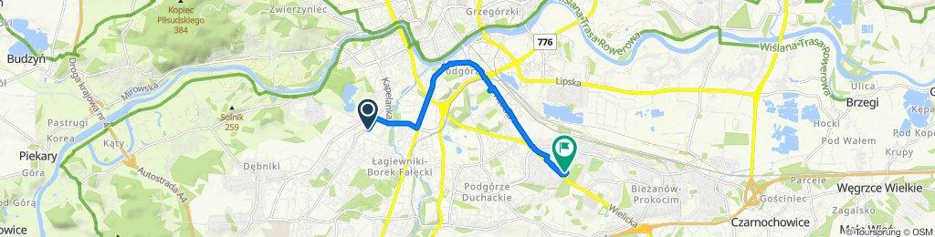 Zygmunta Miłkowskiego 18, Kraków to Górników, Kraków