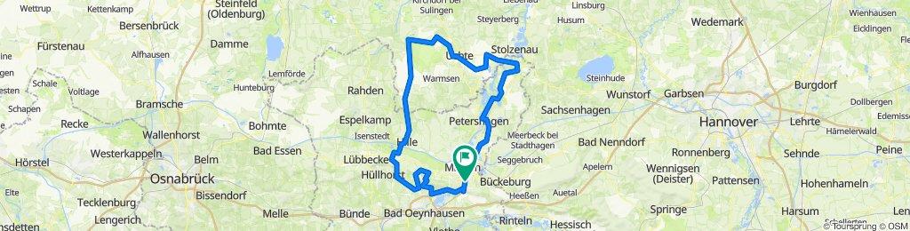 Lange Route Uchte Nettelstedt
