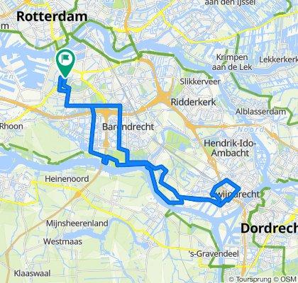Wielewaalstraat 1B, Rotterdam naar Lepelaarsingel 122C, Rotterdam