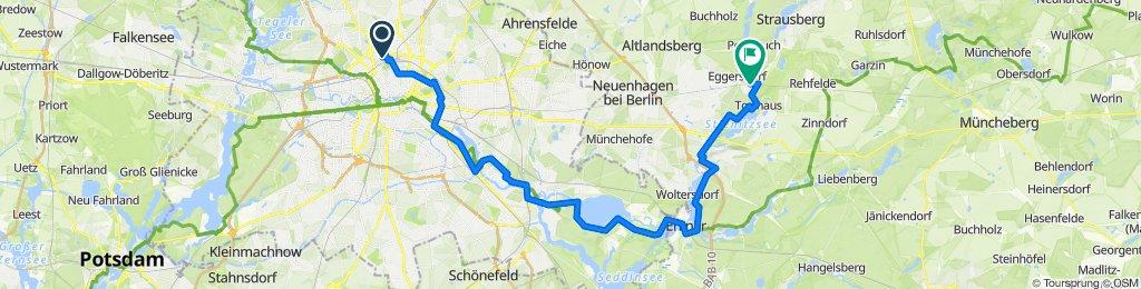 Östliche Seenrunde (Berlin - Erkner - Strausberg)