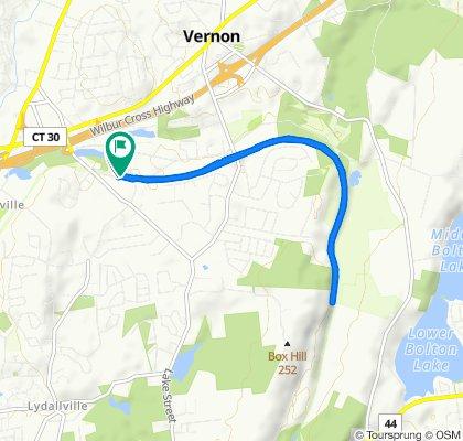 63–69 Church St, Vernon Rockville to 63–69 Church St, Vernon Rockville