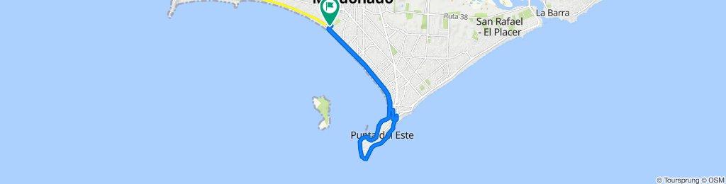 Paseo intenso en Maldonado