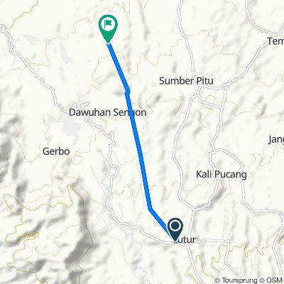Jalan Raya Tutur to Unnamed Road, Kecamatan Purwodadi