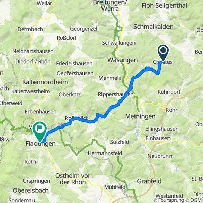 Schmalkalder Straße 10, Christes to Oberfladunger Straße 9, Fladungen