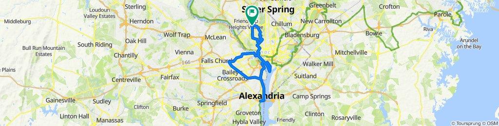 Tidal Basin + Arlington Triangle