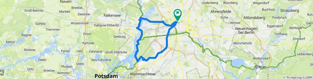 Westliche Runde: Havel - Grunewald - Schlachteensee
