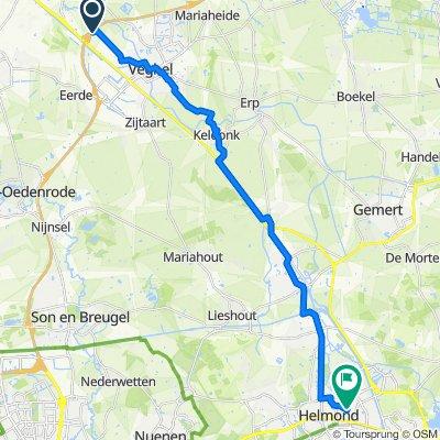 De Amert, Veghel to Marterstraat 18–38, Helmond
