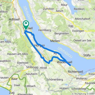 Easy ride in Thalwil