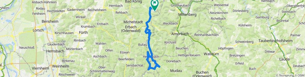 Vielbrunn - Hesselbach - Seitzenbuche - Kailbach - Hesselbach