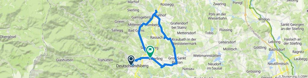 Schulgasse 19, Deutschlandsberg nach Grazerstraße 249, Frauental an der Lassnitz