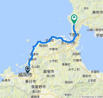 Fukuoka to Kamouno