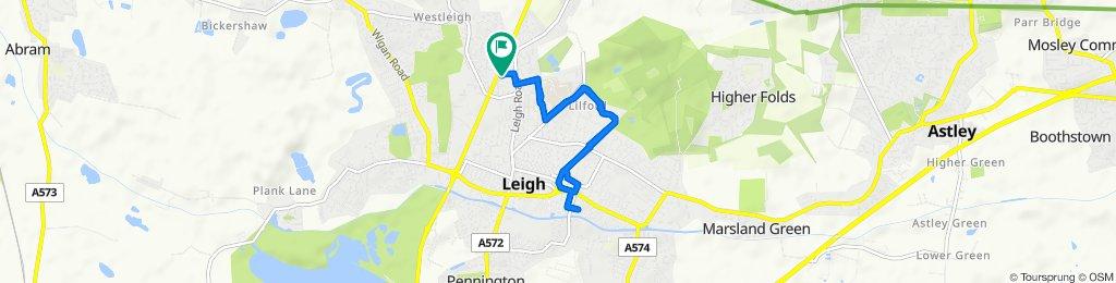 73 Brentwood Grove, Leigh to 69 Brentwood Grove, Leigh