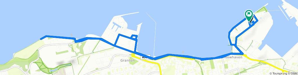 1 Western Harbour Midway, Edinburgh to 1 Western Harbour Midway, Edinburgh
