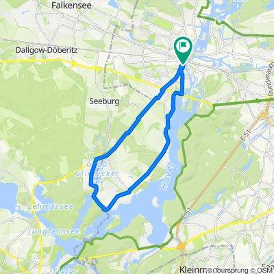 25km Glienicker See