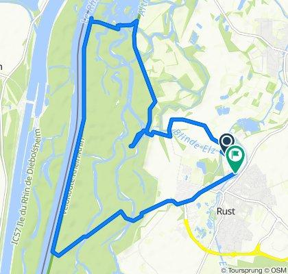 Austraße, Rust to Sändleweg 3, Rust