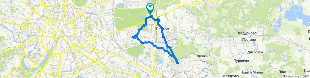 Весенние очень ветренные ясные велоездки  Южное Измайлово - Перово - Кожухово - Реутов 23 03 2020