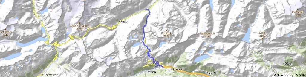Gotthard, alte Passstrasse (Tremolo)